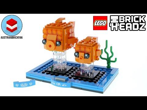 Vidéo LEGO BrickHeadz 40442 : Le poisson rouge