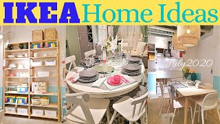 IKEA HOME IDEAS July 2020 * Living Room * Dining & Kitchen * Bedroom And More