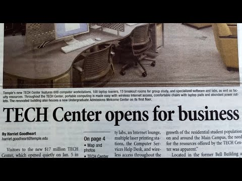 TECH Center Celebrates 10 Years at Temple