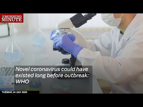 Novel coronavirus could have existed long before outbreak: WHO