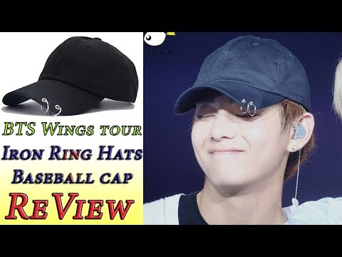 BTS – Wings Tour Iron Rings Hats Love Yourself Snapback Baseball Cap – Review