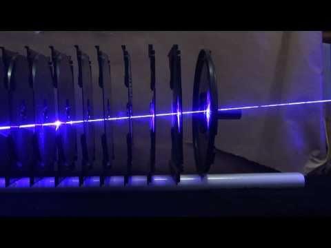 2W 445nm Mavi Lazer Işını 11 CD Kutusuna Karşı