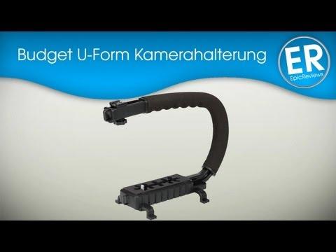 Budget U-Form Kamerahalter für DSLRs im Test