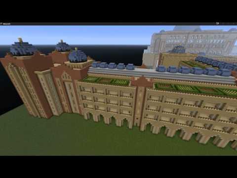 Emirates Palace Abu Dhabi 7 Star Hotel 7 Sterne Hotel Minecraft