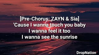 ZAYN   Dusk Till Dawn Ft. Sia LyricsLyric Video