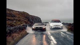 DeLorean x Tesla - Visions of the Future