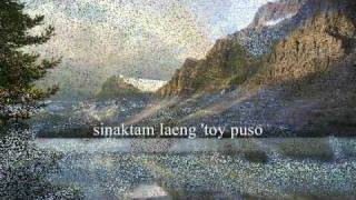 TA DENNAM AWAN NAGBASOLAK(F) (ILOCANO SONG WLYRICS)