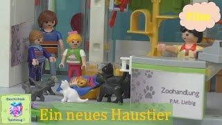 Playmobil Film Deutsch DAS NEUE HAUSTIER ♡ Playmobil Geschichten Mit Familie Miller