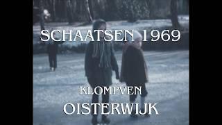 Schaatsen op Klompven Oisterwijk, 1969