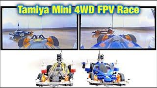 Tamiya Mini 4WD FPV Racing