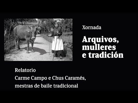 Carme Campo e Chus Caramés, mestras de baile tradicional