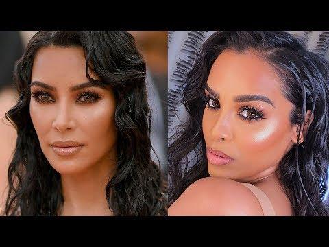 Download Kim Kardashian Wet Makeup Hair Look Video 3GP Mp4 FLV HD