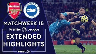 Arsenal v. Brighton | PREMIER LEAGUE HIGHLIGHTS | 12/05/19 | NBC Sports