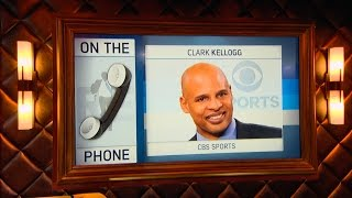 CBS College Basketball Analyst Clark Kellogg Talks NCAA March Madness - 3/21/17