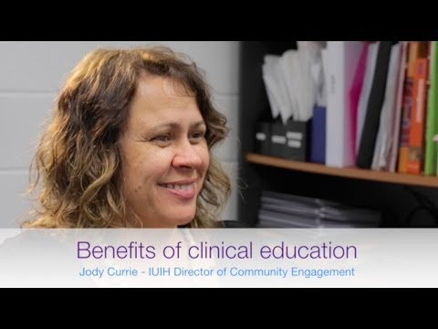 Video Benefits of clinical education placements within an Indigenous health context