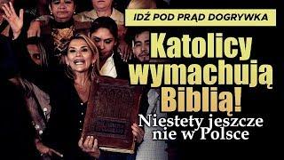 Katolicy wymachują Biblią! Niestety jeszcze nie w Polsce.