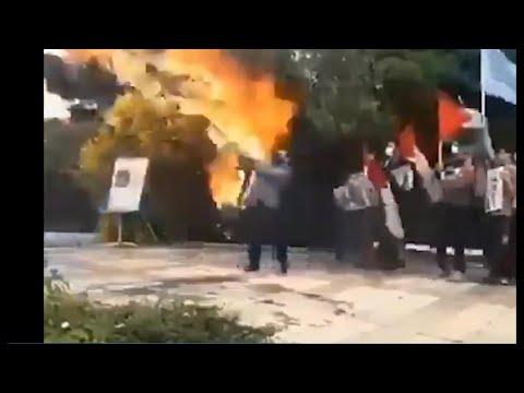 Karma Intervenes in Flag Burning