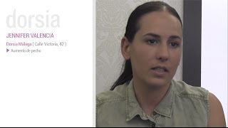 Aumento de pecho - Testimonio Jennifer Valencia - Clinica Dorsia Valencia Marqués del Turia