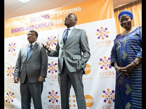 Deputy Executive Director UNFPA Mr. Dereje Wordofa, visits Dakar