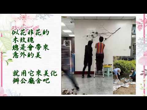 【左營戶政】廳舍美化-木玫瑰篇