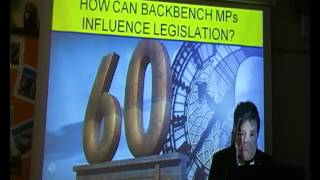 How can backbench MPs influence legislation?