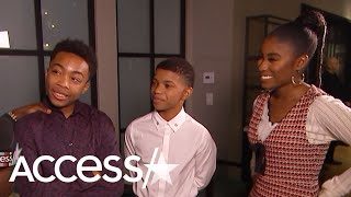 Asante Blackk On Access Hollywood