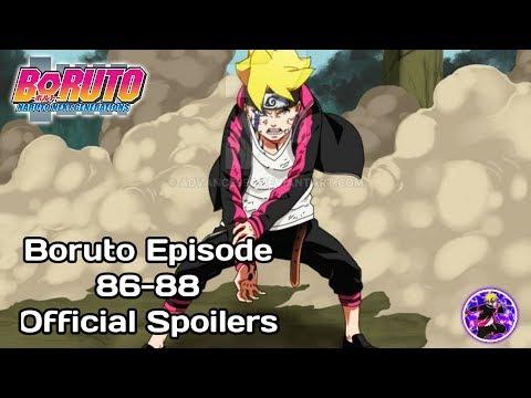 Boruto Episode 86-88 Official Spoilers