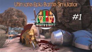 Ultimate Epic Battle Simulator - 60,000 Chickens + Penguins Vs Sparta
