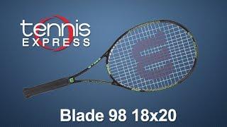 Ρακέτα τέννις Wilson Blade 98 18x20 DEMO video