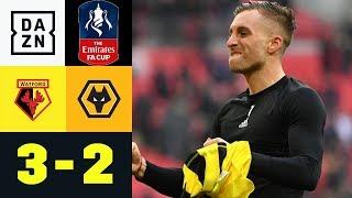 Gerard Deulofeu & Co. Nach Drama-Aufholjagd Im Finale: Watford - Wolverhampton 3:2 | FA Cup | DAZN