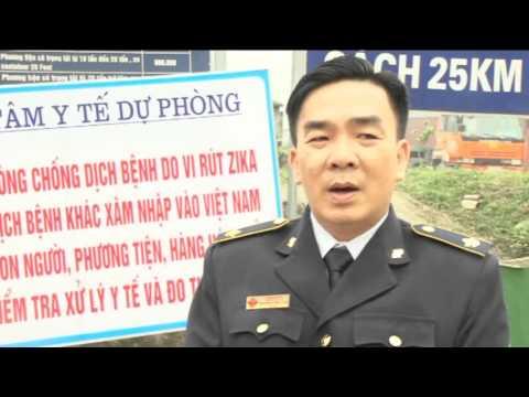 Kiểm soát dịch ZIKA Cửa khẩu Cầu Treo
