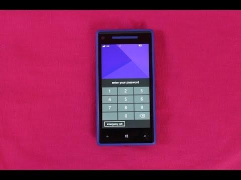How To Unlock Windows Phone Passcode | Remove Password Windows HTC Smartphones