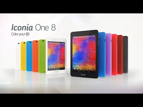 Acer Iconia One 8 tablet - Color your life (Features & Highlights)