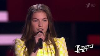 Яна Куликова «Sweet People» - Слепые прослушивания – Голос Дети – Сезон 4