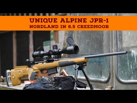 Unique Alpine: Test and video: Unique Alpine JPR-1 Nordland in 6.5 Creedmoor – A hunting bolt action rifle in sporty configuration
