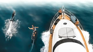 SURFING FROM A YACHT, AND THIS HAPPENED!! | VLOG 02 S.5 (Part 2)
