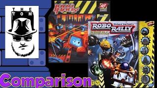 Robo Rally Comparison - with Tom Vasel