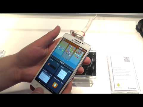 Lenovo S850 Hands On at MWC 2014