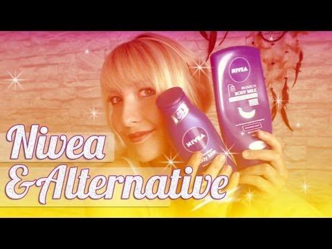 Nivea In-Dusch Body Milk - Clear up Stripes - Balea Creme Dusch Öl