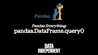 Pandas Query (Filter Data) | df.query()