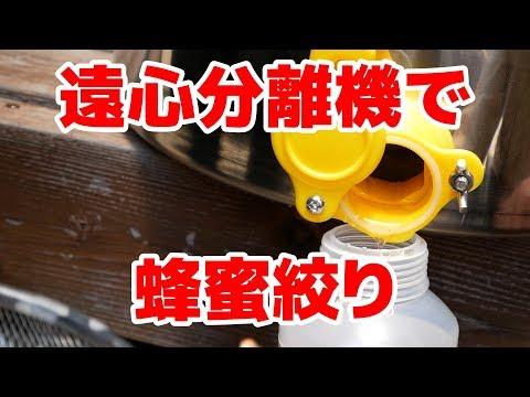 , title : '遠心分離機を使って蜂蜜を絞りました。