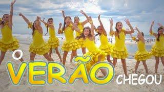 O VERÃO CHEGOU (Clipe Oficial) HIT DO VERÃO - Milena Stepanienco (Mileninha) 8 anos