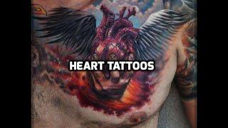 Heart Tattoos - Best Heart Tattoo Designs