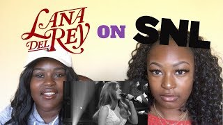 We REACTED to LANA DEL REY on SNL
