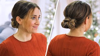 How to Create a Knotted Low Bun | Cute Girls Hairstyles by Cute Girls Hairstyles