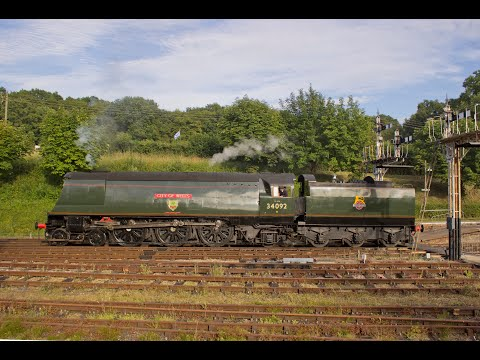 The Bluebell Railway End of Southern Steam Gala Friday 7th J…