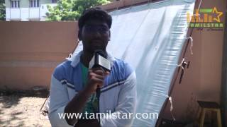 Pandi at Vajram Movie Shooting Spot