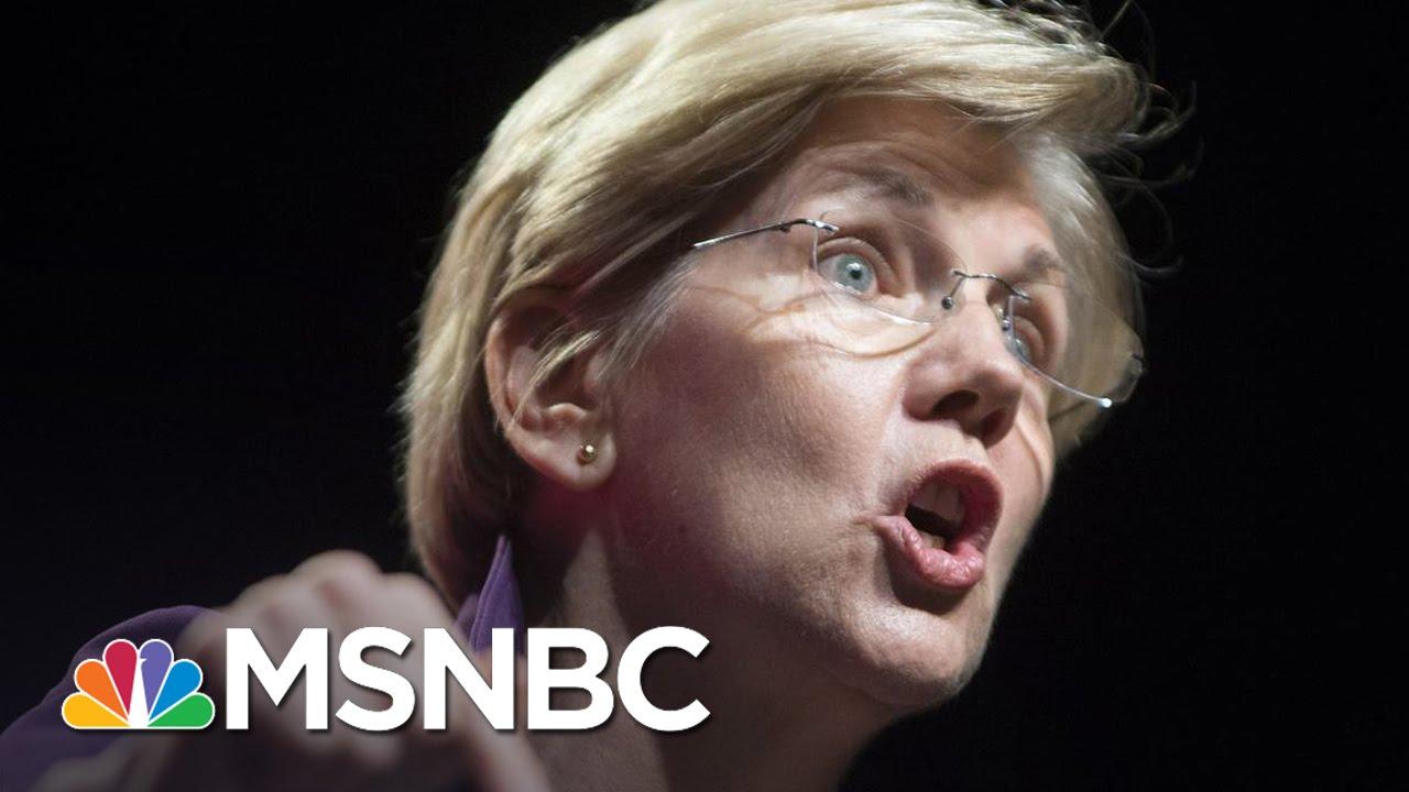 Senator Elizabeth Warren Calls Donald Trump 'Loser' | The Last Word | MSNBC thumbnail