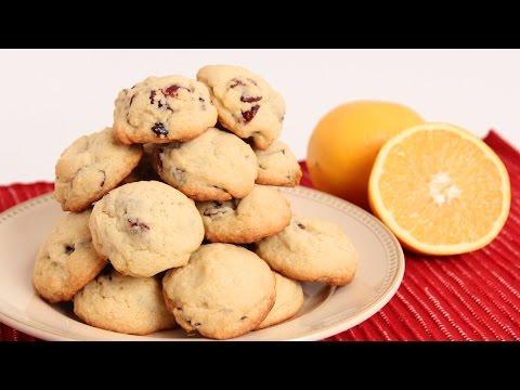 Cranberry Orange Cookies Recipe – Laura Vitale – Laura in the Kitchen Episode 859