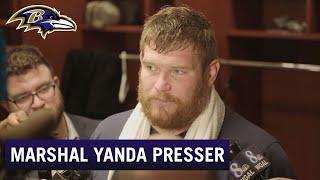 Marshal Yanda: I'm Not Talking Future Right Now   Baltimore Ravens